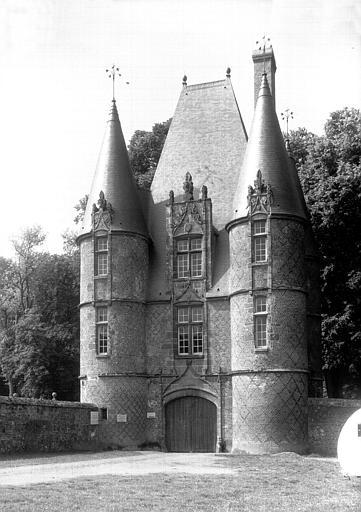 Pavillon d'entrée : façade principale