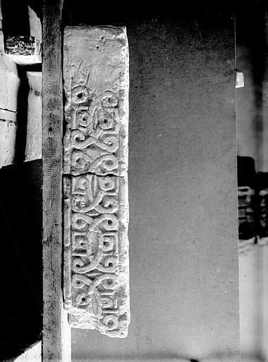 Fragment d'un chancel sculpté, époque carolingienne