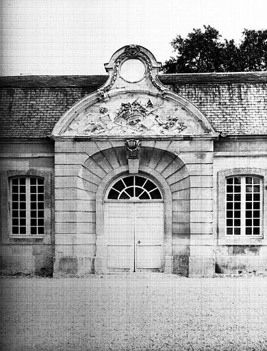 Orangerie : portail central