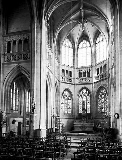 Intérieur : abside