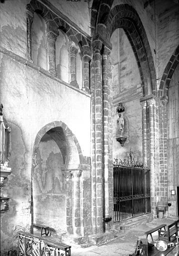 Transept vers le sud-est