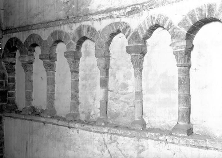 Croisillon nord : arcature du mur ouest