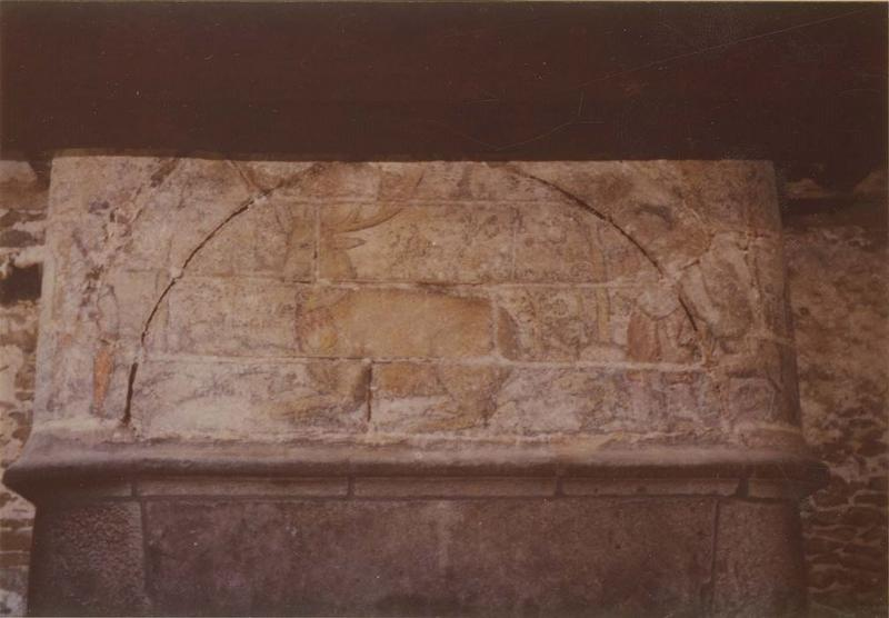 peinture monumentale : la Chasse au cerf, vue générale