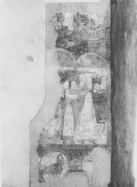 peintures monumentales, détail: les rois Mages