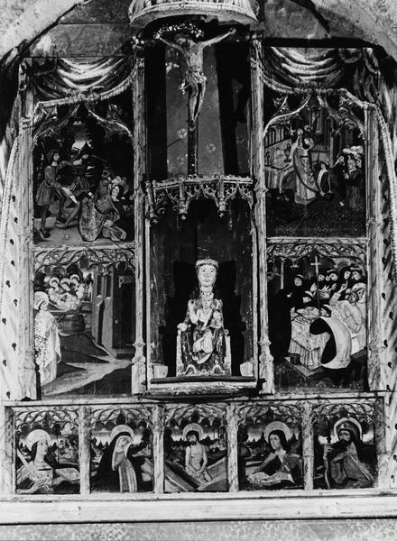 vue générale du retable de saint Martin