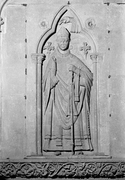 Tombeau de l'évêque Guillaume Radulphe, détail
