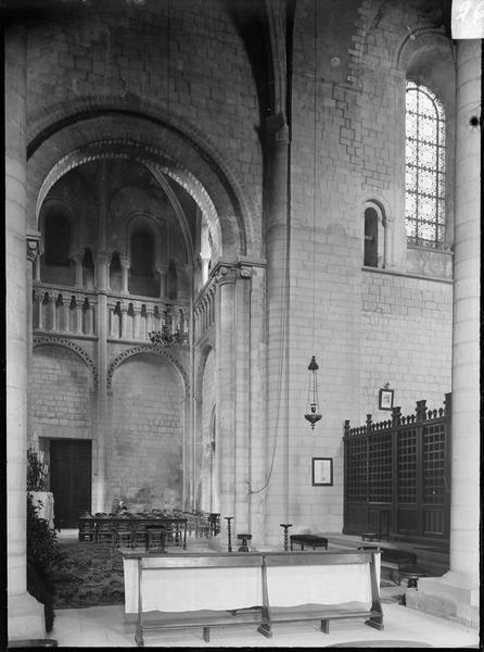 Intérieur : transept nord