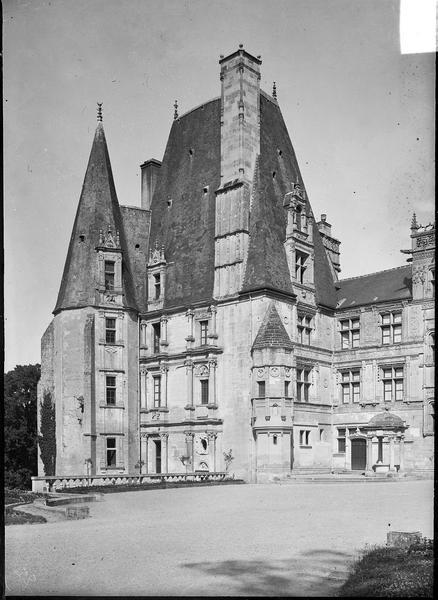 Grand pavillon ouest