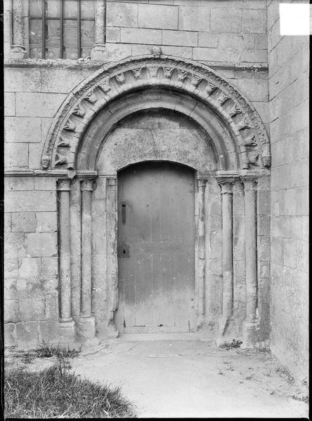 Petit portail de la façade nord