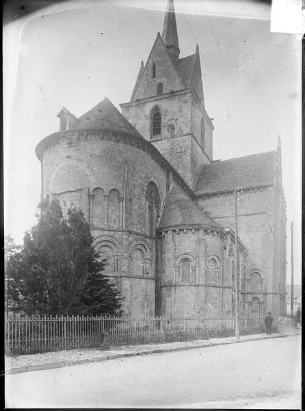 Ensemble nord-est, abside