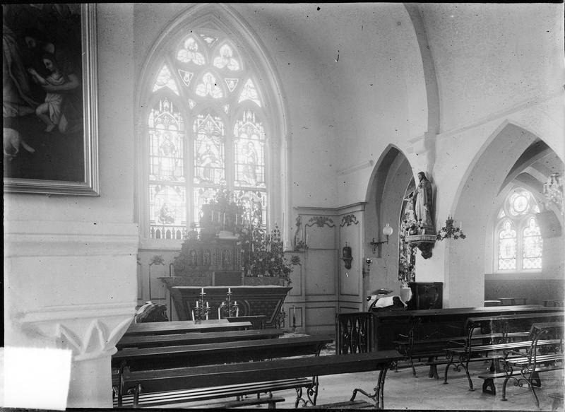 Intérieur : chapelle du choeur
