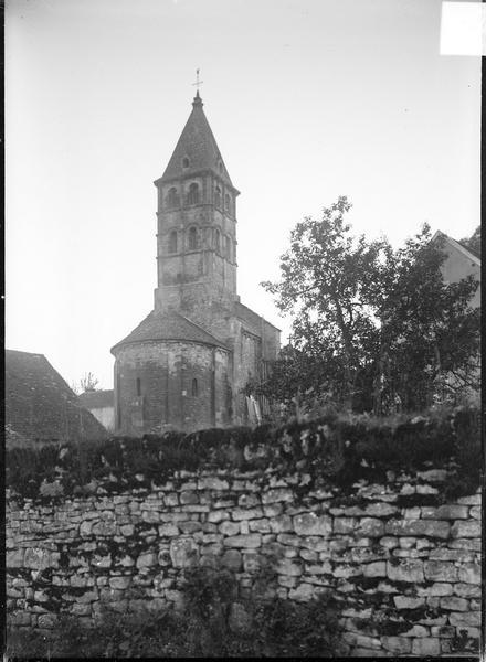 Ensemble nord-est, abside et clocher