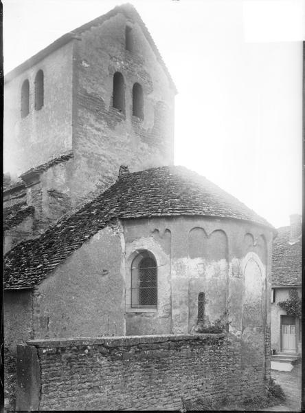 Abside et clocher, côté sud