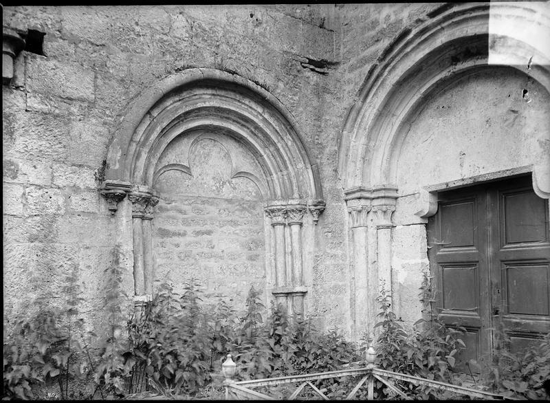 Chapelle nord et nef depuis le nord-ouest