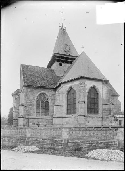 Ensemble sud-est, abside et clocher