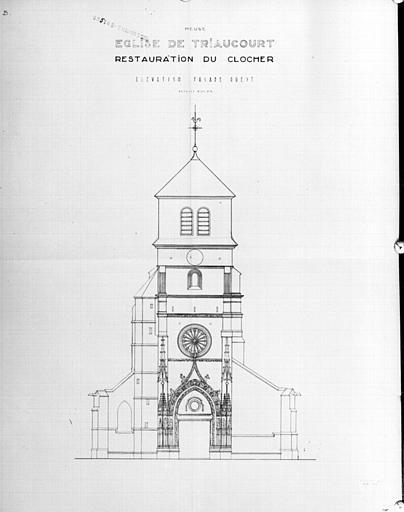 Eglise paroissiale de Triaucourt