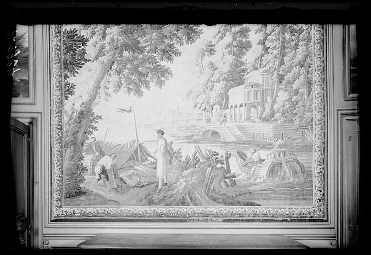 Pièce murale : L'embarcadère ou le marchand d'épices