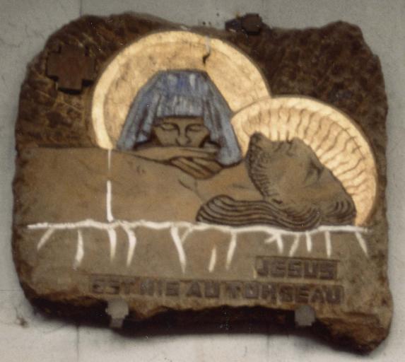 Chemin de croix, haut-relief, après 1946, Mise au tombeau