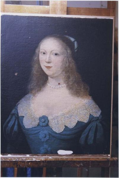 Tableau : Catherine de Lambertye, vue générale