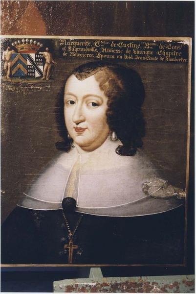 Tableau, cadre : Catherine de Lambertye