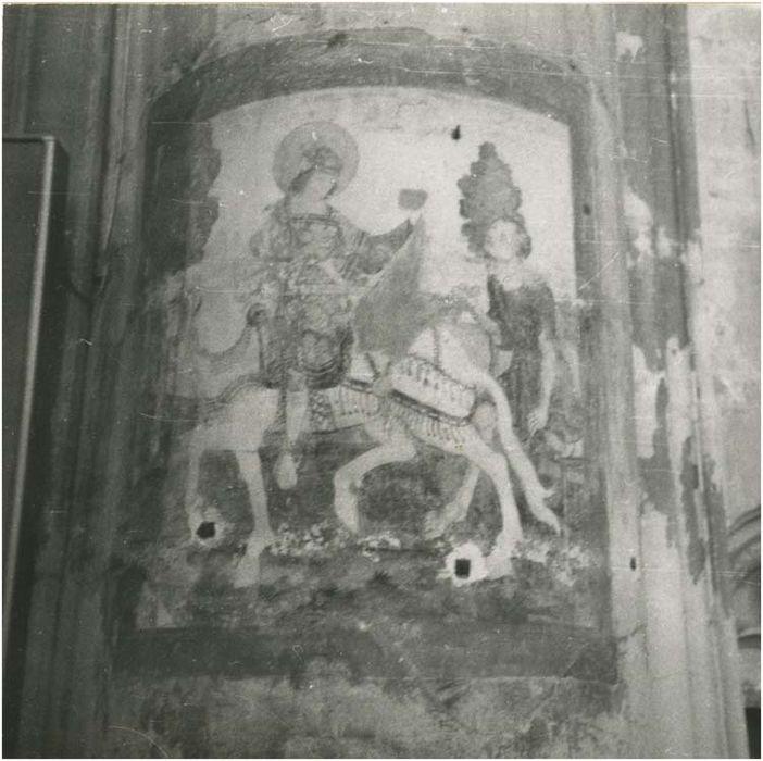 Peintures monumentales : Vie de saint Nicolas (?)