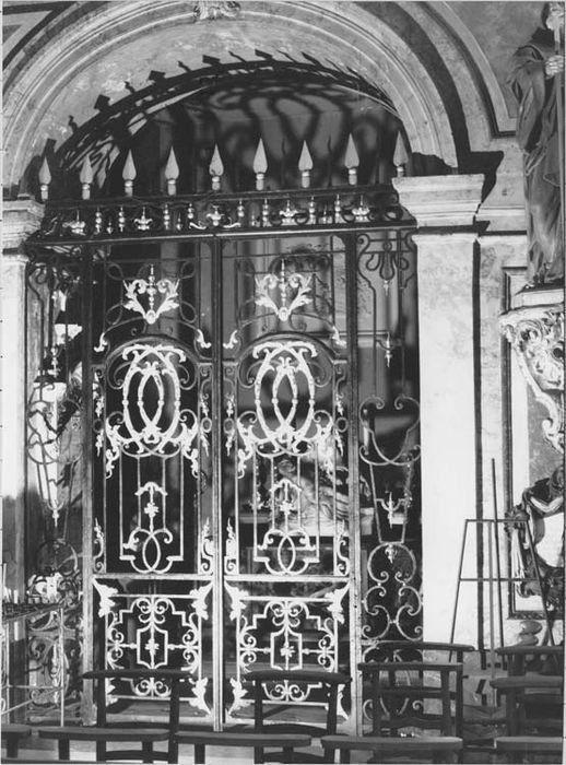 Clôture de chapelle (grille)