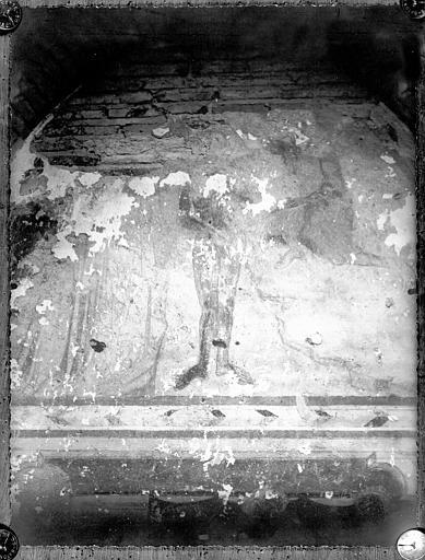 Fresque : Baptême du Christ