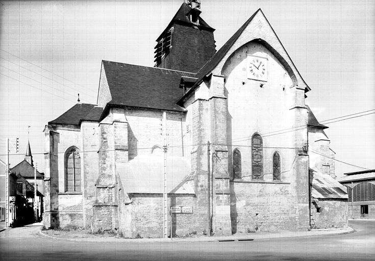 Partie sud-est de l'abside
