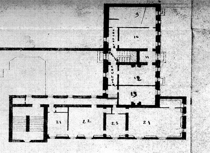 Ancienne abbaye de Port-Royal des Champs, domaine national de Port-Royal des Champs, actuellement Musée National des Granges de Port-Royal