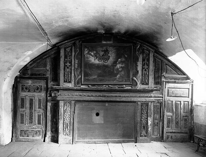 Intérieur : décoration d'un salle