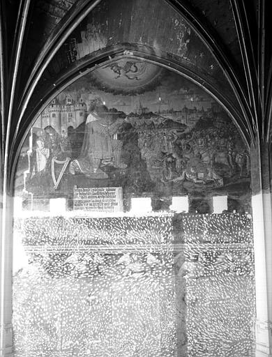 Peintures murales de la chapelle : Histoire de David