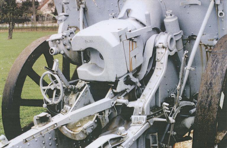 Canon de la première guerre mondial dit canon n°3