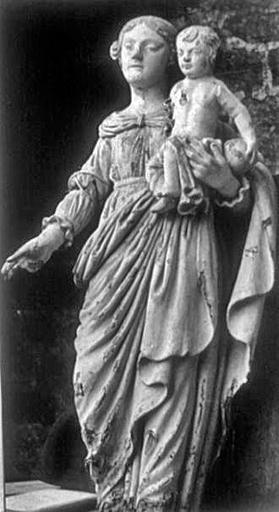 statue : Vierge à l'Enfant dite Notre-Dame du Rempart