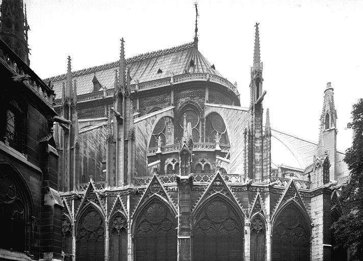 Partie supérieure sud-est de l'abside