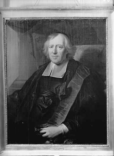 Tableau : Léonard de Lamet, curé de Saint-Eustache