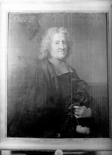 Tableau : Jean-François Secousse, curé de Saint-Eustache