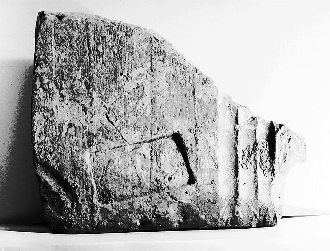 Fragment de brique romaine