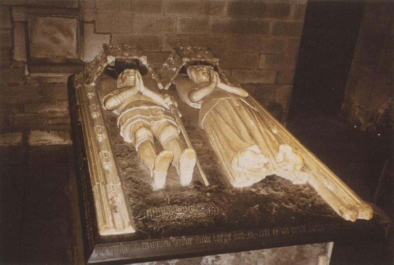 Tombeau d'Olivier de Clisson, connétable de France et de Marguerite de Rohan, sa femme