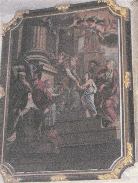 Tableau : Présentation de Marie au Temple