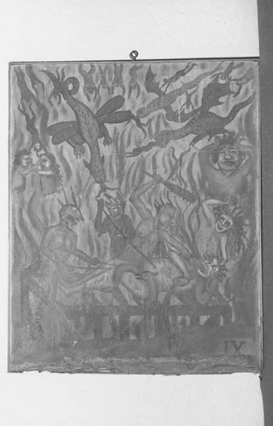 10 tableaux de pénitences, style naïf : Taolennou du père Maunoir