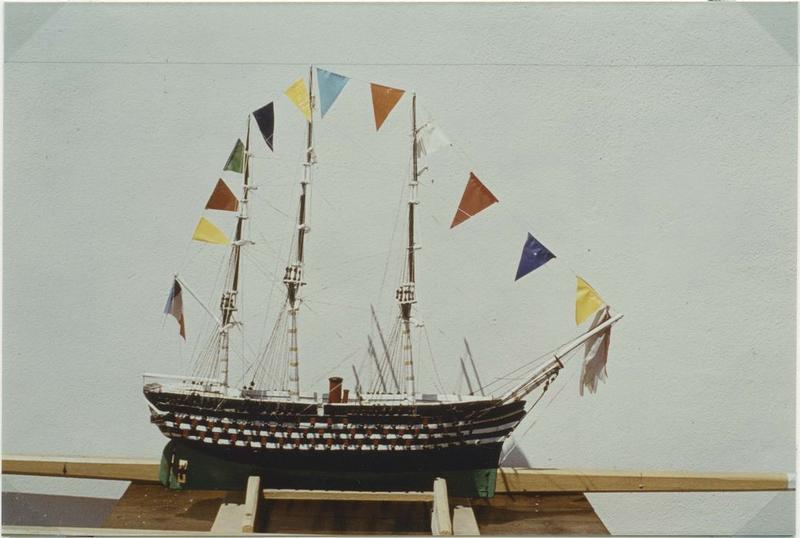 Maquette (maquette de procession) : Pierre-Désiré (le), vue générale