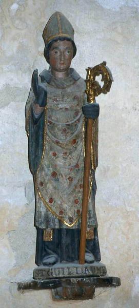 Statue : Saint Guillaume