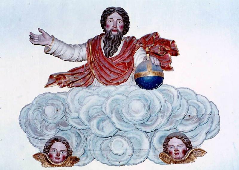 bas-relief : Dieu le Père
