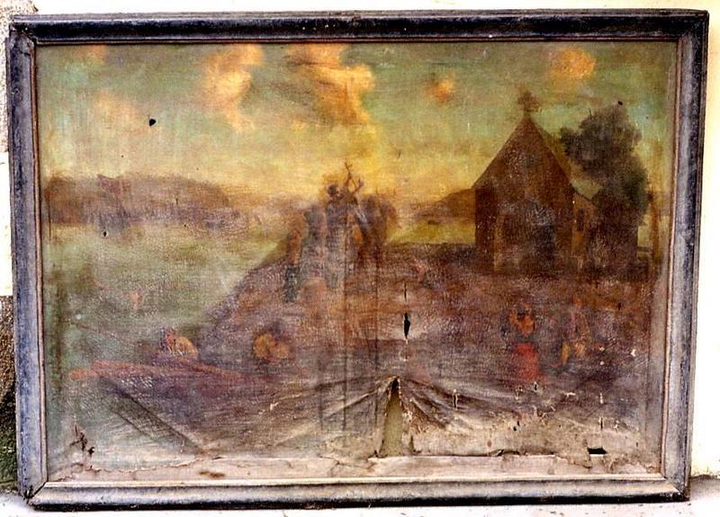 deux tableaux ex-voto : Vie de saint Cado