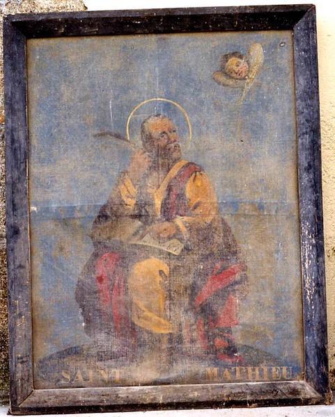 tableau : Saint Matthieu