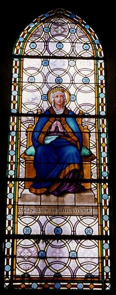 Verrière : Notre-Dame de Bon Voyage
