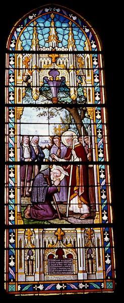 Verrière : Vie de saint Bieuzy