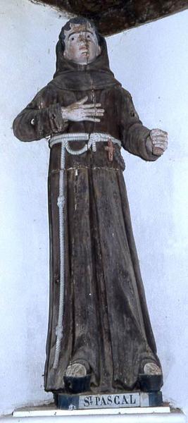 statue : Saint Pascal