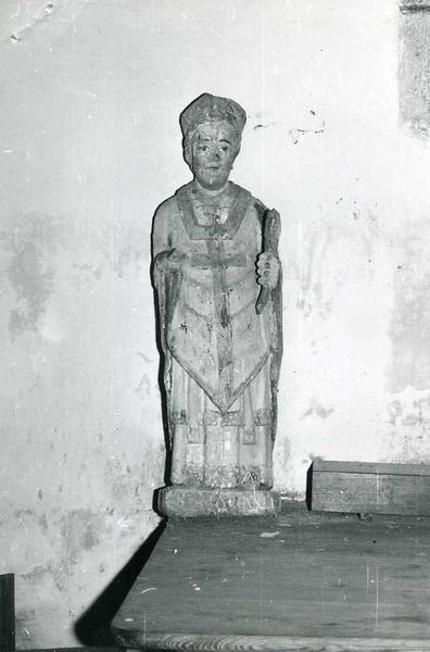 Statue : Saint Maurille