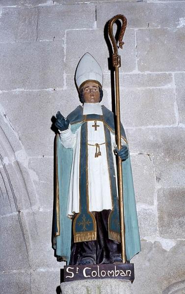 Statue : Saint Colomban